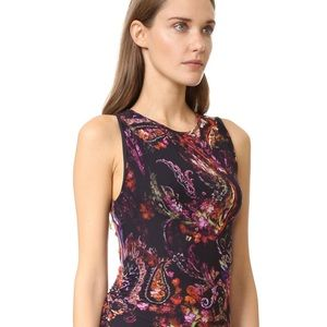Fuzzi paisley dress, Gardenia, XS, new